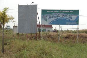 'Chốt' thời gian giải phóng mặt bằng dự án KCN Cầu Cảng Phước Đông