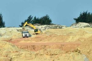 Quảng Bình: Xử phạt hơn 100 triệu đồng công ty khai thác cát trái phép