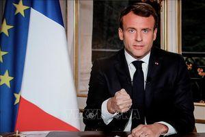 Tổng thống Pháp hủy bài phát biểu liên quan đến phe 'Áo vàng'