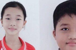 Hai học sinh lớp bốn nhặt được của rơi trả lại người mất
