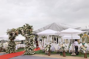 Thực hư thông tin đám cưới 'khủng' chỉ tính riêng phần rạp cưới đã lên đến 2 tỷ đồng ở Hưng Yên