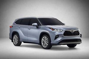 Toyota Highlander 2020 - đối thủ 'đáng gờm' của Ford Explorer chính thức trình làng