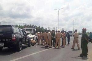 Người tâm thần lái ô tô tông đại úy CSGT tử vong