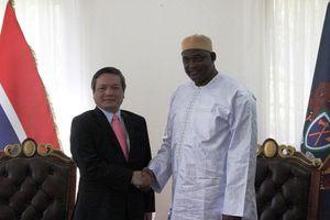 Tăng cường quan hệ hữu nghị, hợp tác giữa Việt Nam và Gambia