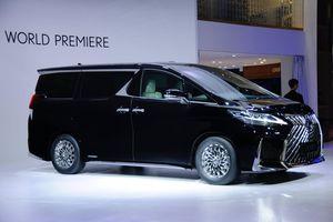 Lexus ra mắt xe đa dụng sang trọng chung nền tảng với Toyota Alphard