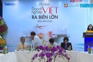 PGĐ Tân Hiệp Phát - Trần Phương Uyên chia sẻ tại hội thảo 'Doanh nghiệp Việt ra biển lớn'