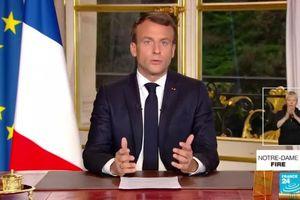 Tổng thống Pháp: Nhà thờ Đức Bà Paris sẽ được khôi phục trong vòng 5 năm