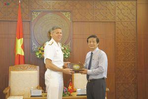 Tư lệnh Bộ Tư lệnh Ấn Độ Dương - Thái Bình Dương Hoa Kỳ thăm Khánh Hòa