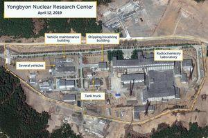 Tình báo Mỹ báo cáo hoạt động bất thường tại cơ sở hạt nhân lớn của Triều Tiên