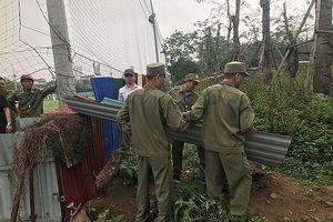 Quận Thanh Xuân giải tỏa các vi phạm đất đai, xây dựng khu vực Đầm Hồng