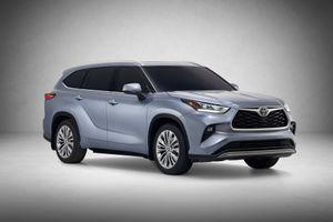 SUV gia đình Toyota Highlander 2020 lộ diện, thiết kế thực dụng hơn