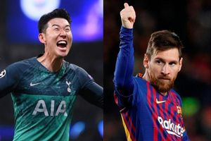 Son Heung-min và Messi lọt đội hình tiêu biểu tứ kết Champions League