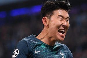 Xé lưới Man City 2 lần, Son Heung-min lập kỷ lục khủng