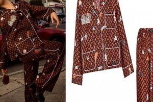 Diễm My 'đụng hàng' nữ đại gia Singapore bộ đồ ngủ 103 triệu đồng