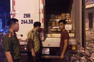 Bắt vụ vận chuyển thịt gà không rõ nguồn gốc