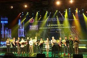Sôi động Liên hoan các Ban nhạc toàn quốc 2019