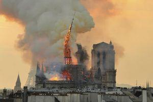 Các tổn thất trong vụ cháy Nhà Thờ Đức Bà Paris không được bảo hiểm