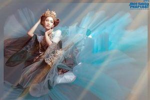 Người đẹp chuyển giới Nhật Hà hóa công chúa lộng lẫy, khoe 3 vòng nóng bỏng