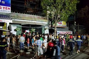 Lại cháy trên đường An Dương Vương, TP.Huế