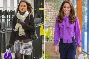 Công nương Kate và loạt mỹ nhân 'một bước lên tiên' chỉ thờ thay...stylist