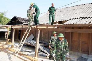 Nghệ An: Lốc xoáy lại tàn phá xã Na Ngoi