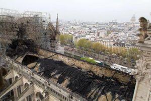 Mức độ thiệt hại của Nhà thờ Đức Bà Paris nhìn từ trên không