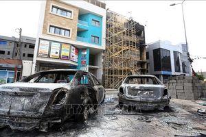 Căn cứ không quân ở miền Nam Libya bất ngờ bị tấn công