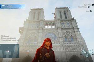 Nhà thờ Đức Bà ở Paris vẹn nguyên và đẹp đến từng chi tiết trong Assassin's Creed Unity