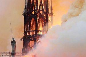 Pháp tìm nhân tài kiến trúc giúp phục dựng Nhà thờ Đức Bà