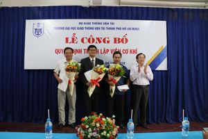 Trường ĐH Giao thông vận tải TP. HCM thành lập Viện Cơ khí