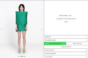 Phì cười vì chiếc váy kì dị giá tận 123 triệu đồng, mặc vào rồi biến thành cây gỗ khỏi ăn uống cử động