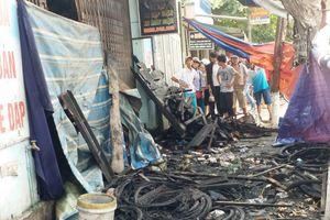 Huế: Cháy cửa hàng xe điện trong đêm, 3 người chết thảm
