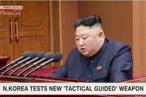 Triều Tiên thử vũ khí dẫn đường chiến thuật mới