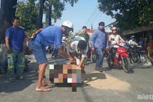Kiên Giang: Nam thanh niên bị xe bồn cán qua người tử vong tại chỗ
