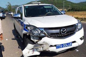 Giám đốc CA Bình Định chỉ đạo xử lý vụ xe CSGT gây tai nạn chết người