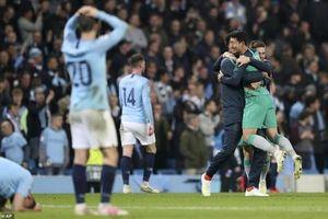 Man City 4-3 Tottenham: Vỡ òa cảm xúc vì VAR