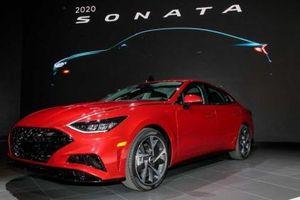Hyundai Sonata 2020 'dạm ngõ' thị trường Mỹ tại triển lãm New York 2019