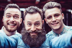 Sốc: Đàn ông có râu nhiều vi trùng hơn... lông chó