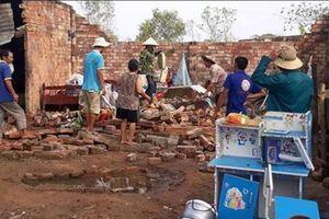 Thiệt hại mạnh từ lốc xoáy tại huyện Ea Súp, tỉnh Đắk Lắk