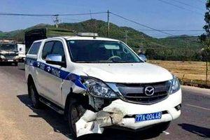 Điều tra vụ tai nạn liên quan xe ô tô tuần tra kiểm soát