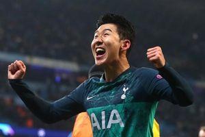 Xé lưới Man City, Son Heung-min lập kỷ lục khủng