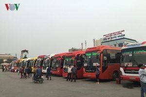 Hàng trăm nhà xe đăng ký vào bến Giáp Bát, Nước Ngầm rồi 'biến mất'