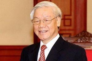 Tổng Bí thư gửi điện mừng lãnh đạo mới của Nhà nước Triều Tiên
