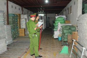 Phát hiện kho xưởng sản xuất nhựa không đảm bảo an toàn PCCC