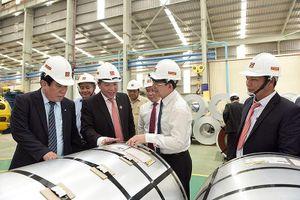 Hoa Sen xuất khẩu 5.000 tấn tôn qua Malaysia