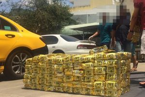 Bắt nhóm người Trung Quốc buôn 1,1 tấn ma túy ở Sài Gòn