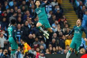 Tottenham bùng nổ đêm Champions League