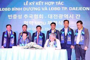 LĐBĐ tỉnh Bình Dương và LĐBĐ thành phố Daejeon ký hợp tác chiến lược
