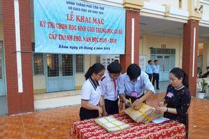 Cần Thơ: 924 thí sinh tham gia Kỳ thi chọn HS giỏi THCS
