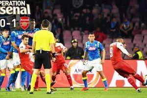Vượt qua Napoli, Arsenal vào bàn kết Europa League